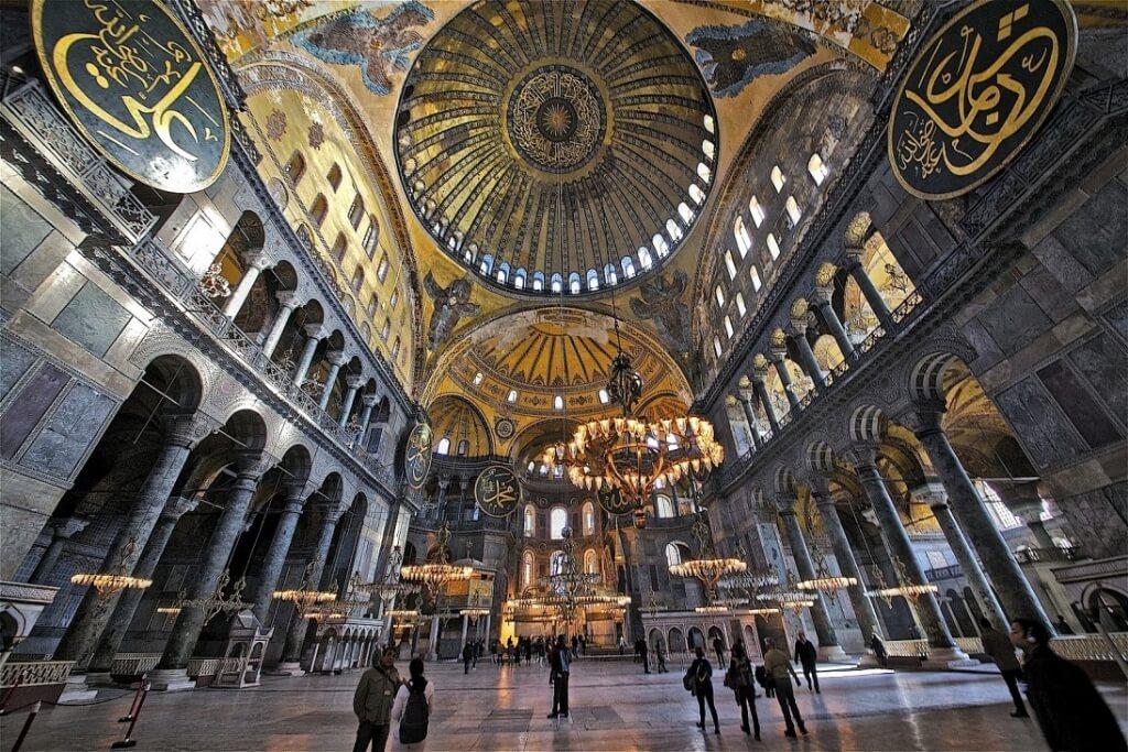 ayasofya-camii-içi