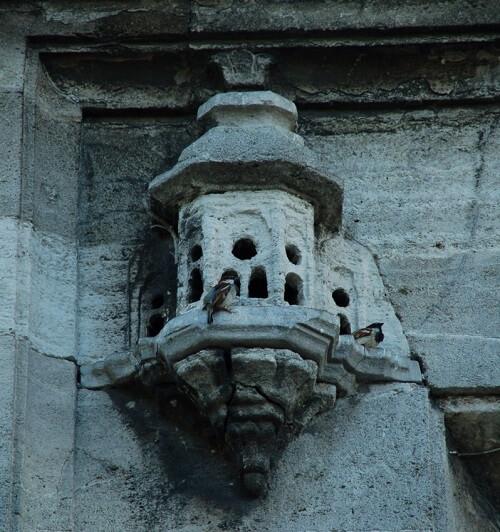 Üsküdar Ayazma Camii Avlu Kapısı Üzerindeki Kuş Evi-istanbul-delisi